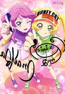 Aikatsu Friends! Poster Animedia August 2019