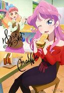 Aikatsu Friends! Poster Animedia May 2018