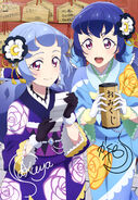 Aikatsu Friends! Poster Animedia December 2018
