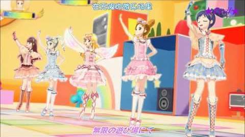 【HD】Aikatsu!_All_5_Girls_-_Fashion_Check_(episode_32)_【中文字幕】