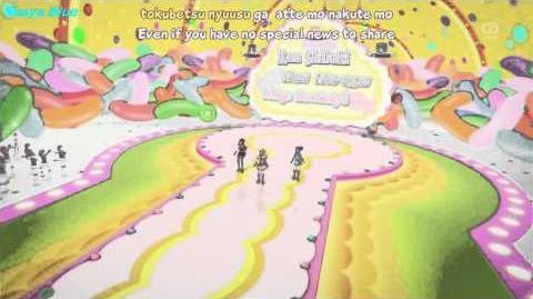 Eng Sub Aikatsu! ep.24 - Ichigo & Aoi & Ran - Ponytail After School