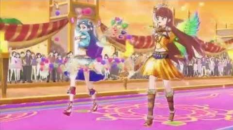 Aktifitas Idol! - Kompas Keberuntungan (☆Ran Shibuki & Sora Kazesawa ♪Kira・pata・shining)-1