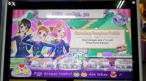 Aikatsu Indonesia Card Game Season 2 seri 1 Calendar Girl ★★★ (Menantang Powapowa Puririn)