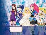 Aikatsu! Both of my princesses