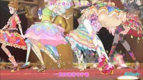 【HD】Aikatsu! - episode 49 - All 7 girls - Moonlight destiny【中文字幕】