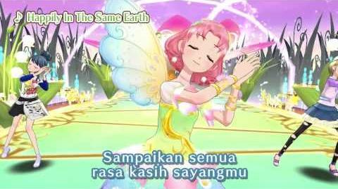"Aikatsu! Music Video ""Happily In The Same Earth"" ♪"