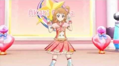 Aikatsu!-Akari with Soleil!-SHINING LINE* (Episode 101)-0