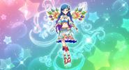 Sora vestido de constelacion