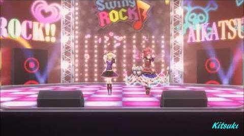 【HD】Aikatsu! - episode 53 - Ichigo & Seira- Idol Performance rock ver.