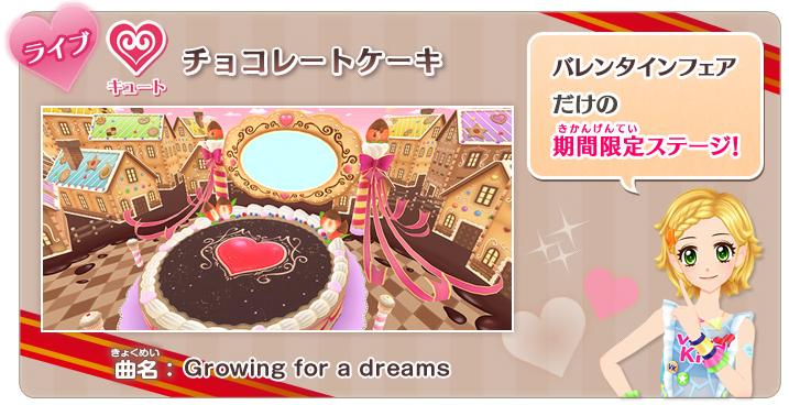 Chocolate Cake Stage