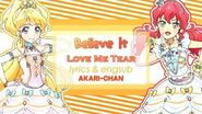 LYRICS & ENGSUB Believe it - Aikatsu Friends!
