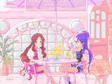 "TV Anime/Data Carddass ""Aikatsu Stars!"" Insert Song Singiel 1 - Wiosenna Kolekcja"