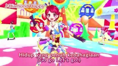 "Aikatsu! Music Video ""Diamond Happy"" ♪-0"