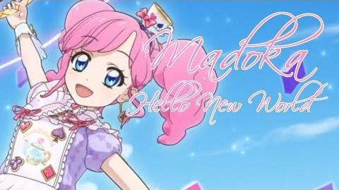 (HD)Aikatsu!-Madoka-Hello New World (Episode 175)