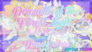 Aikatsu Stars! Pirouette of the Forest Light Full Lyrics Yume & Aria