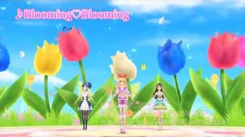紅白アイカツ合戦 白組ミュージックビデオ第2弾「Blooming♡Blooming」