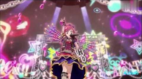 【HD】Aikatsu! - episode 51 - Seira - Idol Performance rock ver.