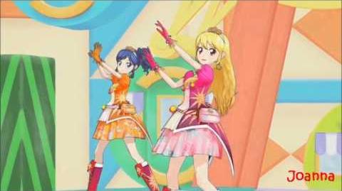 (HQ) Aikatsu! - SOLEIL (Ichigo & Aoi & Ran) - DIAMOND HAPPY (episode 46)