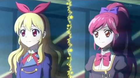 Aktifitas Idol! - Sa-Sa-Sa☆★Saingan (☆Ichigo Hoshimiya VS Seira Otoshiro ♪Idol Katsudo! Versi Rock)