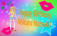 Happy Birthday, Mikuru Natsuki!