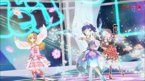 【HD】Aikatsu! - SOLEIL (Ichigo & Aoi & Ran) - Signalize! (episode 40) 【中文字幕】