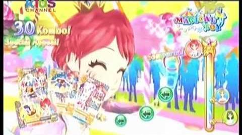 Iklan Aikatsu Card Seri ke-5 Magical Toy