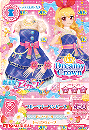 Blue Manners Coord