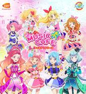 Aikatsu Series Bandai Namco Cafe of March and April 2019