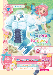 Blue Fairy Coord