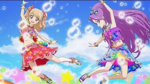 (HD)Aikatsu!-Mikuru&Mizuki-Smiling Suncatcher (Episode 81)