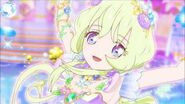 Aikatsu Stars! Aria Futaba Pirouette of the Forest Light Stage