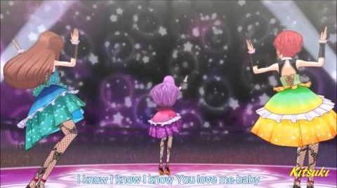 【HD】Aikatsu! - episode 36 - Tristar - Take me Higher【中文字幕】