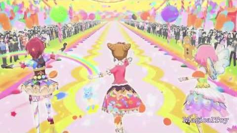 Aikatsu!-Otome_Arisugawa_&_Sakura_Kitaōji_&_Kaede_Ichinose-_Ponytail_After_School_-Episode_60