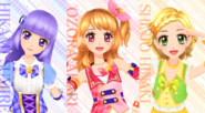 Aikatsu Season 3 new characters