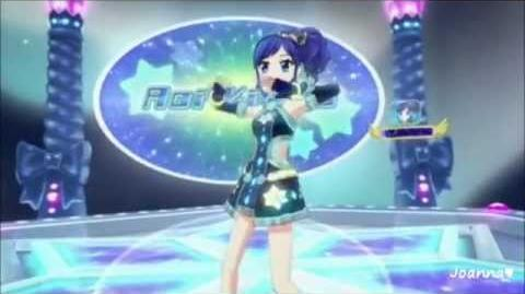 """Aoi compite por el puesto de Pon Pon Crepe con las cartas Aikatsu """"Futuring Girl"""""""