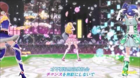【HD】Aikatsu! - episode 33 - Ichigo & Aoi & Ran - Take me Higher【中文字幕】