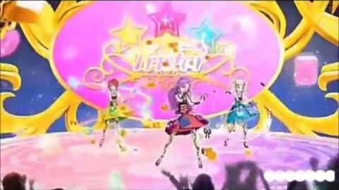 Aikatsu Episode 38 TriStar (Mizuki,Kaede,Yurika)