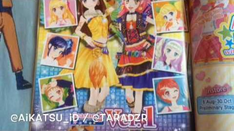 SPOILER Aikatsu Fanbook Stage 1 by @aikatsu id @taradzr