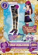 Glitter Violet Coord 3