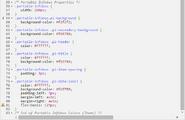 CSS Coding Portable Infobox Sample