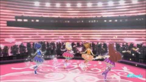 【HD】Aikatsu!_-_episode_73_-_Ichigo_&_Aoi_&_Ran_&_Otoma_-_Happy_crescendo_-_with_chan