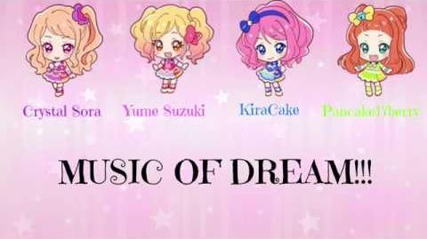 ☆Yume & Pancake17berry & Crystal Sora & KaraCake☆ 「✿ MUSIC OF DREAMS!!!✿」Japanese Group Song Cover