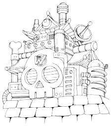 ワイリー城(ロックマン6)