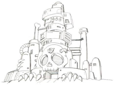 ワイリー城(ロックマン3)