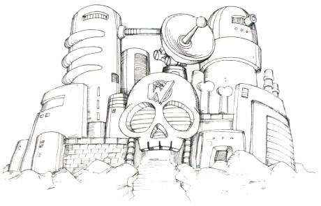 ワイリー城(ロックマン4)