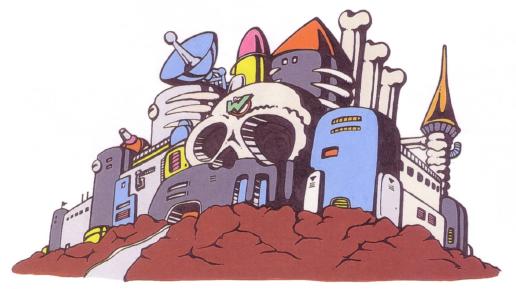 ワイリー城(ロックマン2)