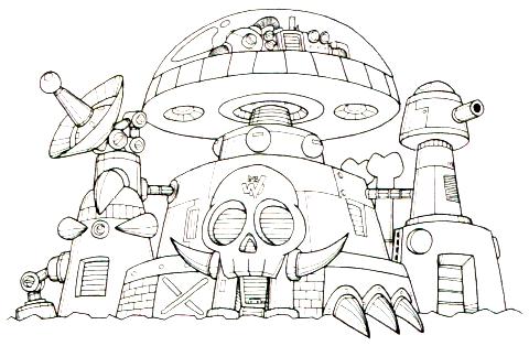 ワイリー城(ロックマン5)