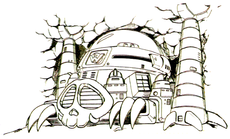 ワイリー城(ロックマンワールド2)