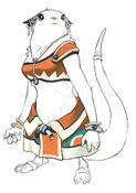 Shugo female concept sketch 1