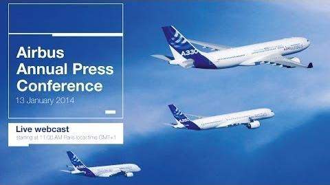 Annual Airbus press conference 2014 - uncut version